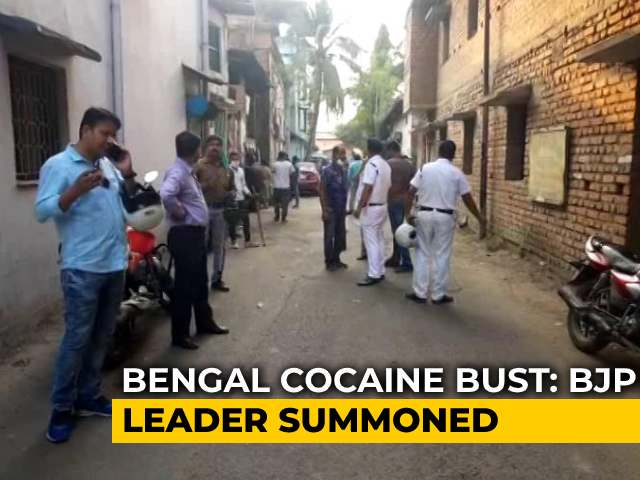 Video : Bengal BJP Leader Arrested After Party Leader Claims He Framed Her In Drugs Case