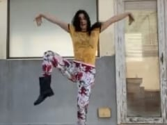 "Katrina Kaif Recreated Jack Black's ""Stay At Home"" Dance Routine. The Result..."