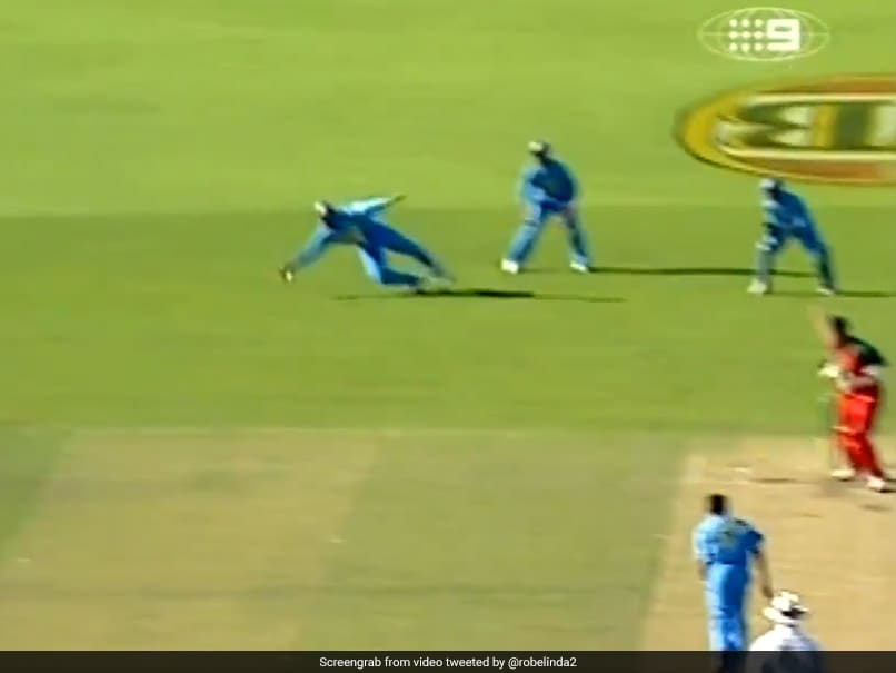 VVS Laxman Says This One-Handed Stunner Was His Best Catch. Watch - NDTVSports.com
