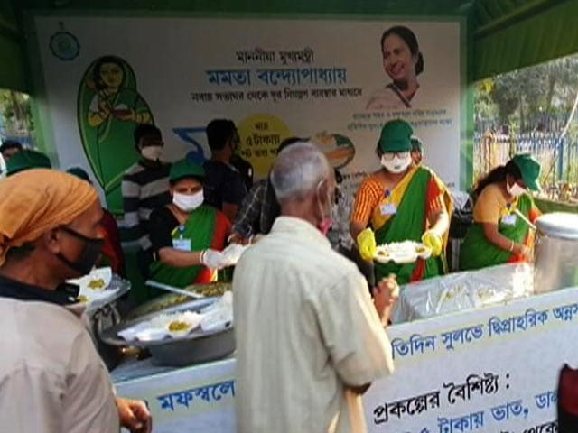 Video : Mamata Banerjee Rolls Out Affordable Food Scheme. Price Per Plate Is...