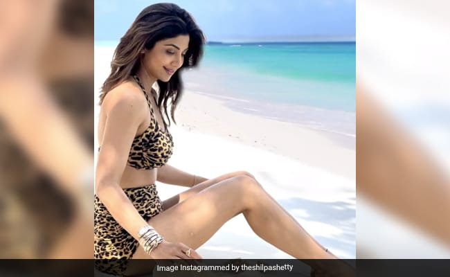 Shilpa Shetty Is 'Creating Waves' On Instagram, All The Way From Maldives