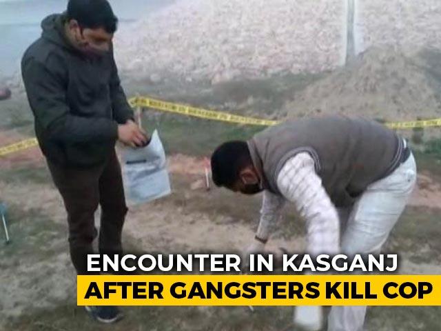 Video : In Uttar Pradesh's Kasganj, Gangsters Kill One Policeman, Injure Another