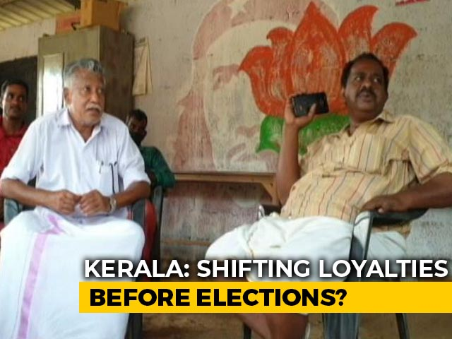 Video : In Kerala, Shifting Of Loyalties Before Assembly Election?
