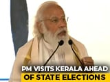 Video : PM Launches Projects In Kerala, Focusses On Tourism, Ahead Of Election