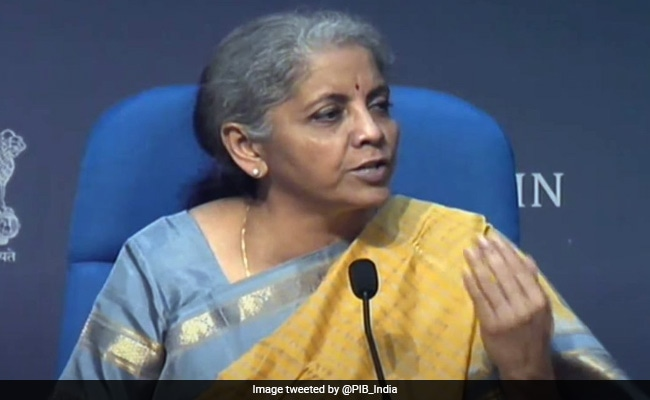 'You Didn't Stop The Guys': Nirmala Sitharaman's Remark Draws Laughter