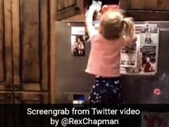 Viral Video Of Kid Climbing Up Fridge For A Cookie Divides The Internet