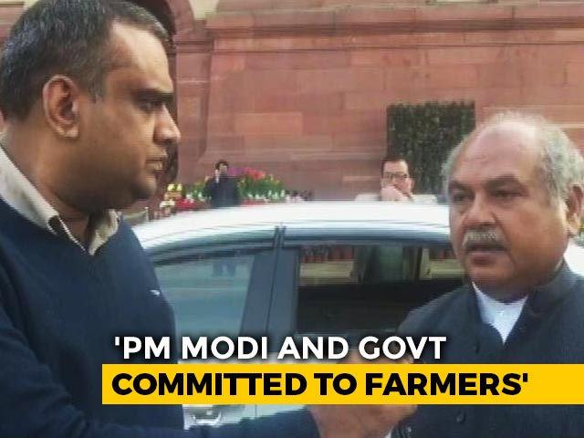 """Video : """"Awaiting Farmers' Proposal"""": Union Agriculture Minister To NDTV"""