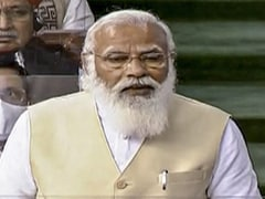 """PM Modi Calls Congress """"Divided"""", """"Confused"""" As MPs Walk Out Of Lok Sabha"""