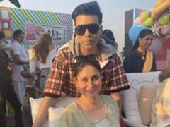 Catching Up With Mom-To-Be Kareena Kapoor And Karan Johar
