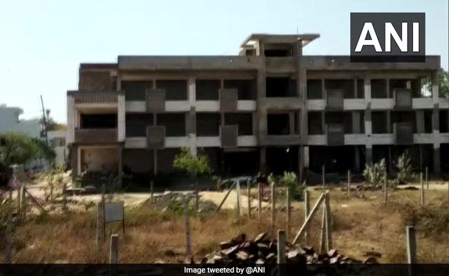 Illegal Building Demolished In Bhopal Using Controlled Blast
