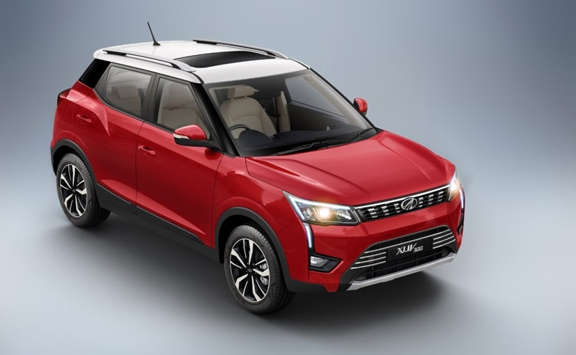 Prices for the new Mahindra XUV300 petrol AMT variants start at Rs. 9.55 lakh for the W6 trim