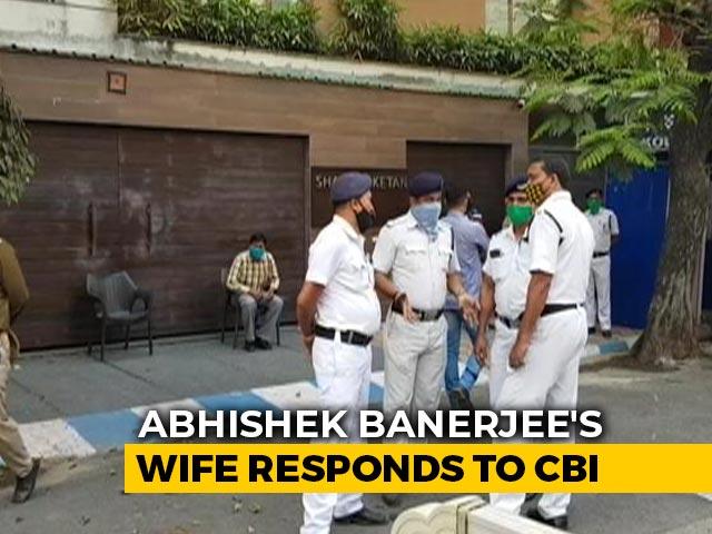 "Video : ""Unaware Of Reason"": Wife Of Trinamool's Abhishek Banerjee On CBI Summons"