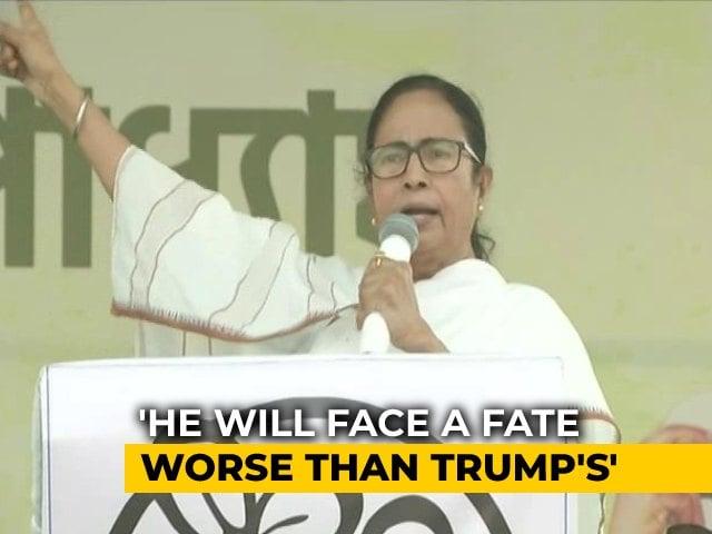 "Video : Mamata Banerjee Calls PM ""Dangabaaz"", Says ""Fate Worse Than Trump Awaits"""