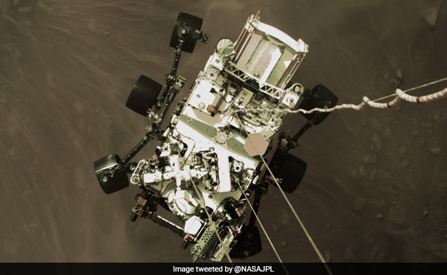 NASA's Perseverance Rover Preparing To Take First Mars Rock Samples
