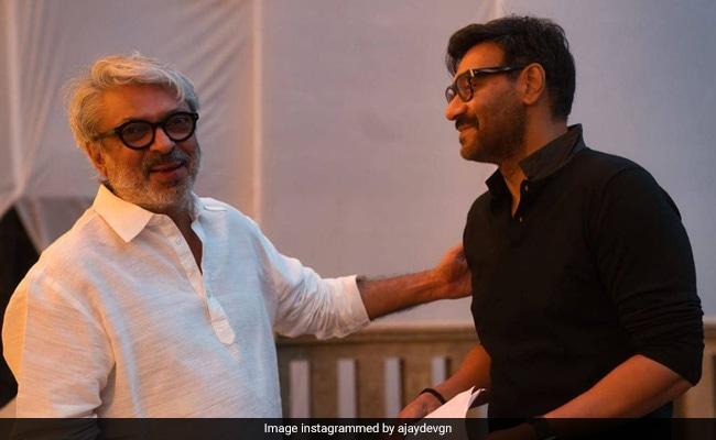 Gangubai Kathiawadi: Back On Sanjay Leela Bhansali's Set After Two Decades, Ajay Devgn Wrote This - NDTV