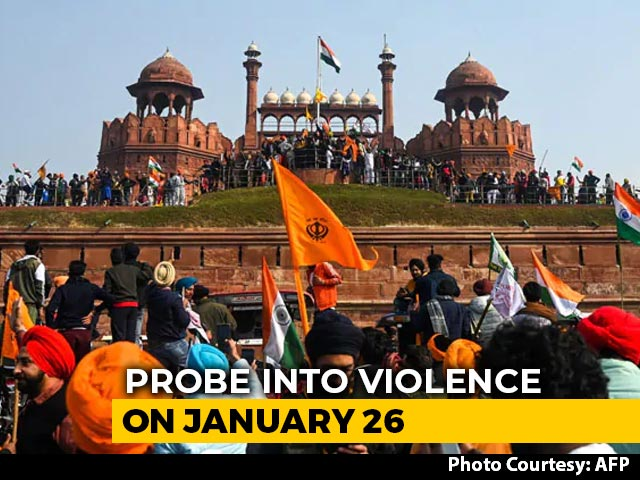 Video : Actor-Activist Deep Sidhu Taken To Red Fort To Recreate R-Day Scene