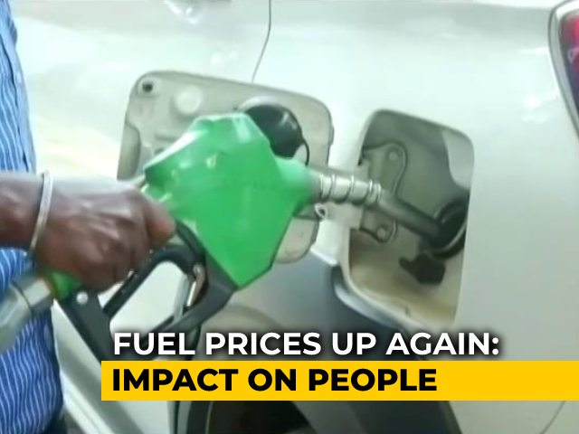 Video : Fuel Prices Up Again: Impact On People