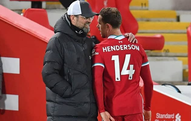 Klopp Voices Fears Over Henderson As Liverpool Injury Crisis Deepens