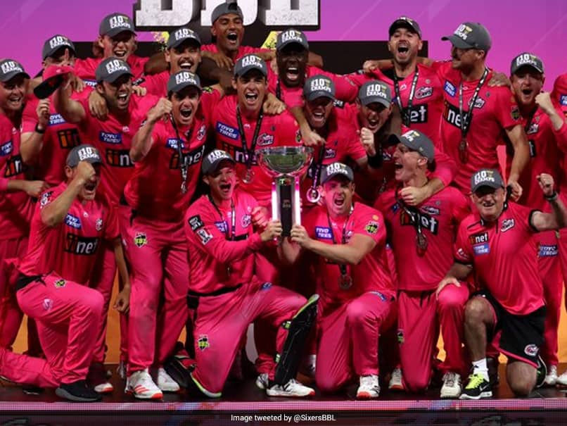 Big Bash League: Sydney Sixers Beat Perth Scorchers In Final To Clinch Title