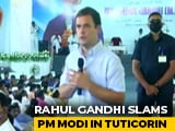 "Video : ""Have Defeated Much Bigger Enemy Than This"": Rahul Gandhi's Dig At PM"
