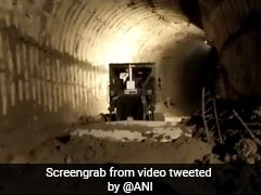 Rescue Work Continues Overnight To Find 39 Trapped In Uttarakhand Tunnel
