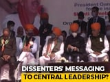 "Video : ""Truth Is We See Party Getting Weak"": Congress 'Dissenters' In Jammu"