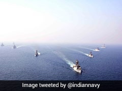 Indian Navy Undertaking Mega Exercise In The Indian Ocean Region