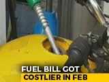 Video : Fuel Bill Got Costlier By Rs 4 Per Litre In February, How It Affects You