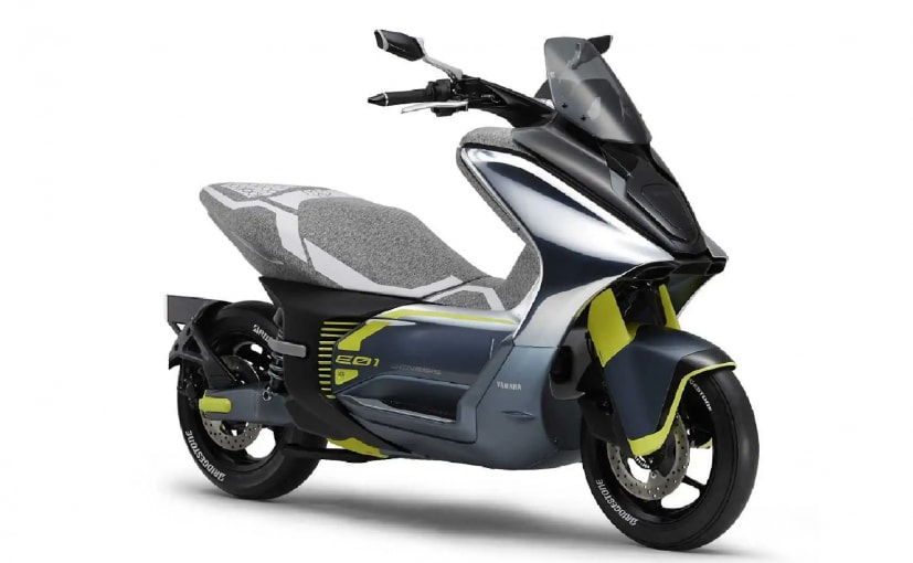 Yamaha files naming rights for two electric scooters