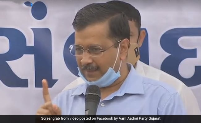 """""""Our 27 To Their 93, But…"""": Arvind Kejriwal's Message To BJP In Surat"""