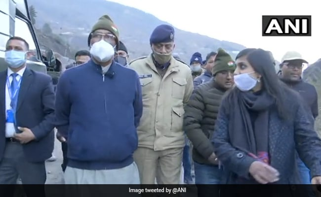 ISRO, Defence Research Body Studying Glacier Burst Cause: Uttarakhand Chief Minister
