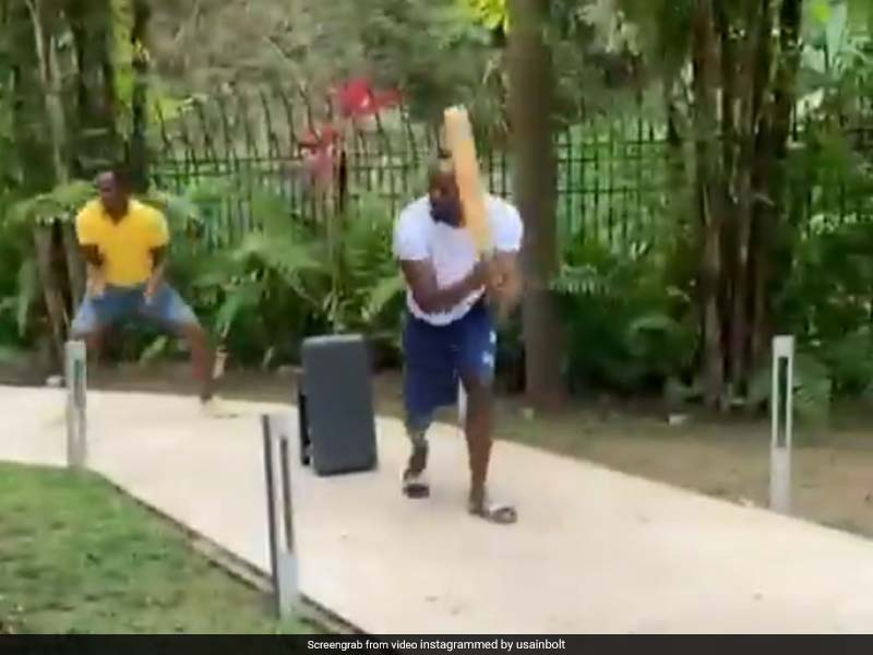 Usain Bolt Plays Cricket With Friends, Fans Hail His Cover Drive. Watch