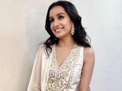 Shradda Kapoor's Dazzling White <i>Lehenga</i> Is Made To Shine For The Wedding Season