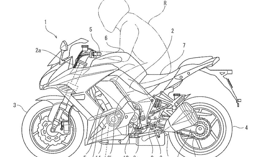 Kawasaki's latest patents reveal semi-automatic transmission