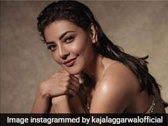 Kajal Aggarwal's Gorgeous Bronze Makeup Look Has Us Taking Notes