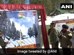 Army Lays Foundation Of 100 Feet Tall National Flag In Jammu And Kashmir