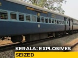 Video : 100 Gelatin Sticks, 350 Detonators Seized From Train Passenger In Kerala