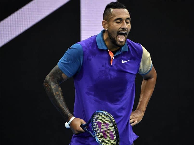 "Nick Kyrgios Hits Back At Novak Djokovic, Calls Him ""Very Strange Cat"""