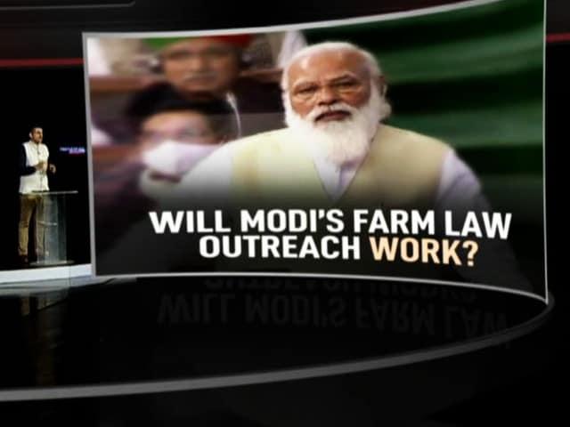 Video : Will PM Modi's Farm Law Outreach Work?
