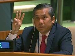 Row Over Who Represents Coup-Hit Myanmar At UN