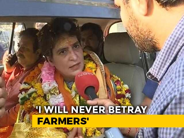 Video : Will Priyanka Gandhi Vadra Be UP Chief Ministerial Candidate? What She Said