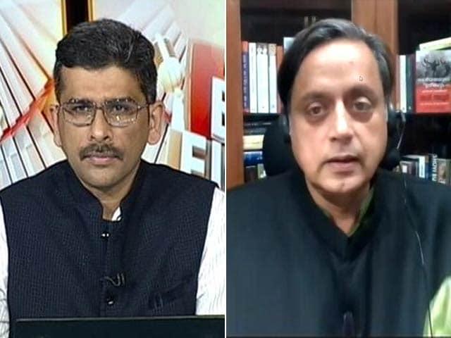 Video : Shashi Tharoor On What Hurt India's Image More: Tweet Or Response