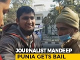 Video : Delhi Court Grants Bail To Journalist Mandeep Punia