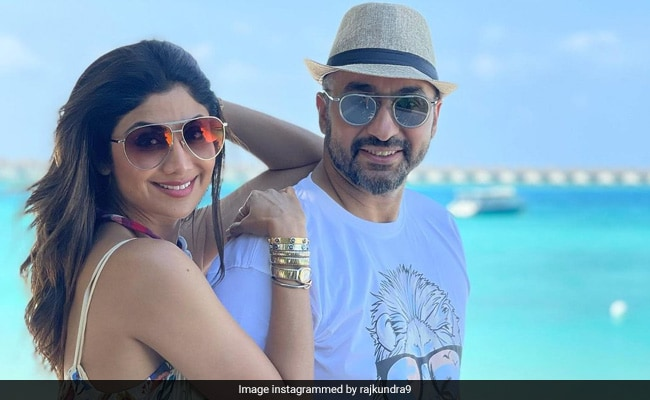 Shilpa Shetty And Raj Kundra Are Holidaying In Maldives. See Pics