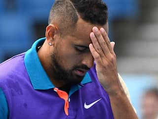 """Im Not Playing"": Nick Kyrgios Rants Over Time Violation"