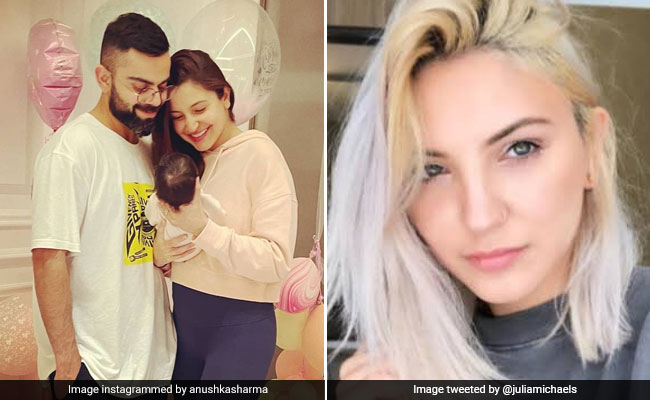 Remember Anushka Sharma's Doppelganger? This Is How She Reacted To Vamika's First Pic - NDTV