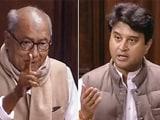 Video : Jyotiraditya Scindia, Digvijaya Singh's Amusing Exchange In Parliament