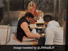 After Its Demolition, Makeshift Temple Comes Up In Delhi's Chandni Chowk