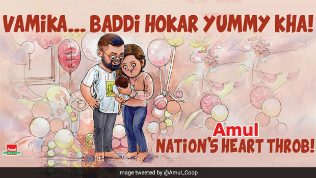 This Doodle Of Anushka, Virat And Baby Girl Vamika Will Surely Melt Your Heart; Check Out!