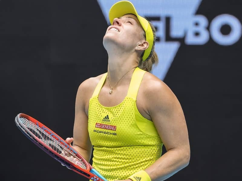 Australian Open: Former ChampionAngelique Kerber Crashes Out After Heavy Defeat In First Round